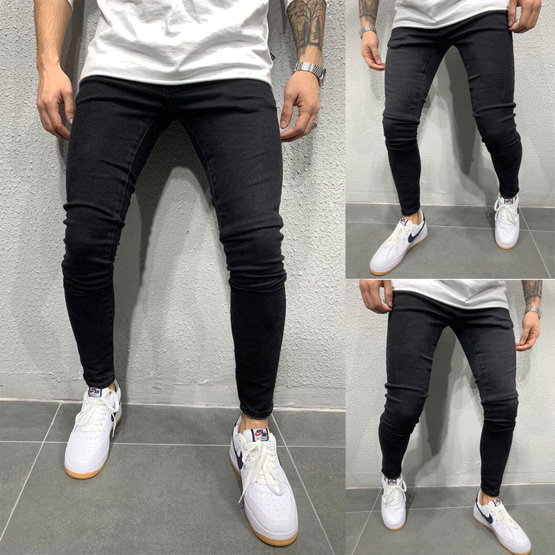New Fashion Men Skinny Jeans Stretchy Pant Denim Pant Slim Fit Pant Long Pant Bike Jeans Men Jeans Men Pant Long Trouser