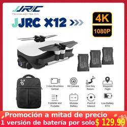 JJRC X12 Aurora 5G WiFi FPV Brushless Motor 4K HD Camera GPS Dual Mode Positioning Foldable RC Drone Quadcopter RTF VS EX4