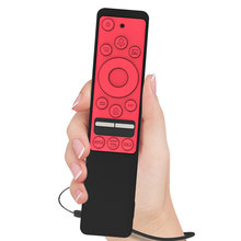 SIKAI Case kapak Samsung RMCSPR1BP1/BN59 01312A darbeye tam koruyucu kılıf UHD 4K akıllı TV için Bluetooth uzaktan kumanda