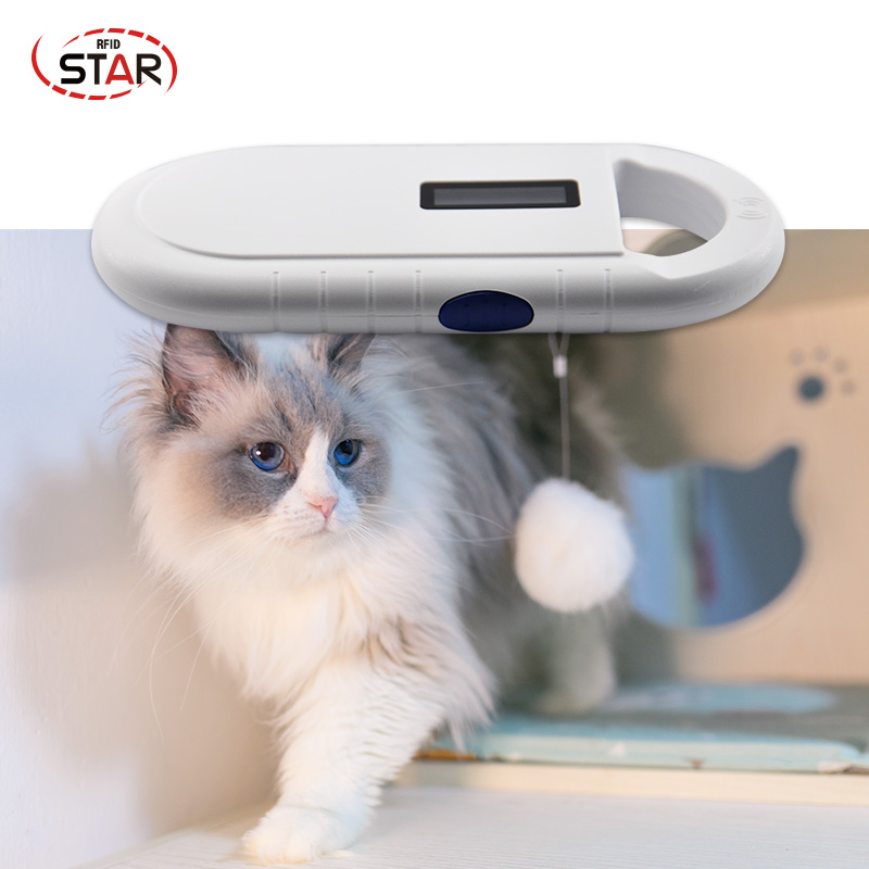USB Rfid Portable Microchip Handheld Reader 134.2KHz FDX-B Animal Pet Microchip Scanner Dog Reader For Microchips, Ear Tags