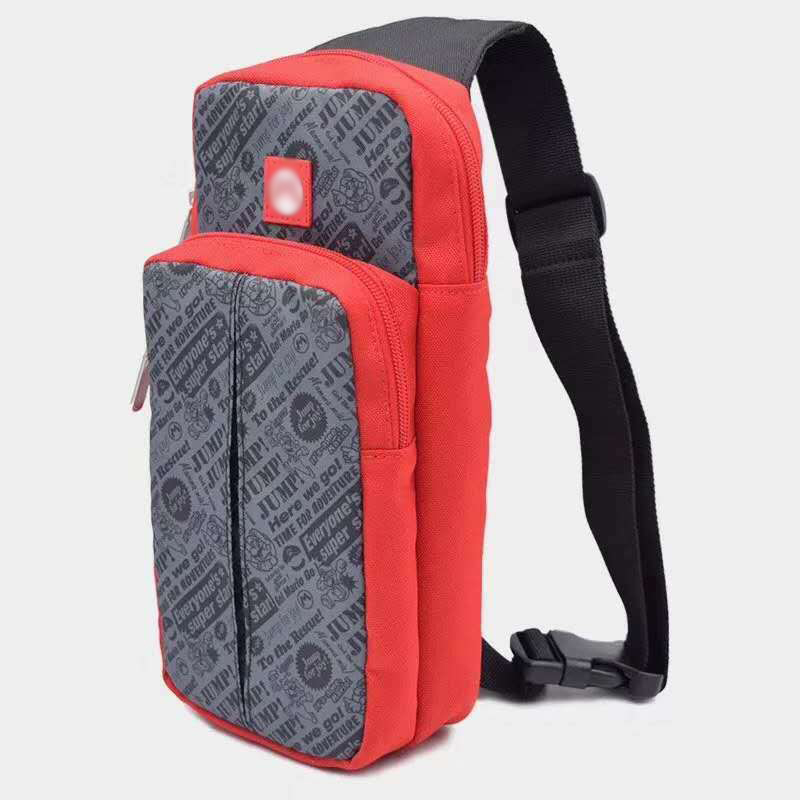 Crossbody Bag for Nintendo Switch Travel Carry Case Shoulder Storage Bag for Console & Dock Game Accessories Protective Bags 2