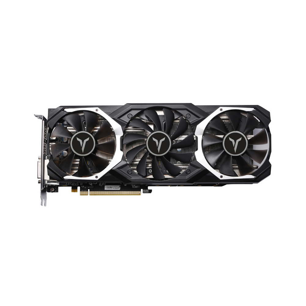 Yeston <font><b>RX</b></font> <font><b>580</b></font> RX580 8G D5 Game ACE PA Graphics Cards Radeon Chill Polaris 20 GPU GLACIER Cooling System 8GB Memory GDDR5 256bit image
