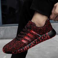 Zapatos Damyuan 2020 transpirables para Hombre, zapatos informales, zapatos de malla para Hombre, zapatos negros de talla grande para Hombre