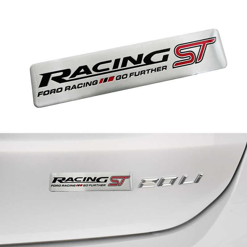 ST RACING automobile SPORT aller plus loin voiture autocollant porte autocollant pour FORD FOCUS 2 Focus 3 Mondeo Fiesta Kuga MK2 MK3 MK4 voiture style