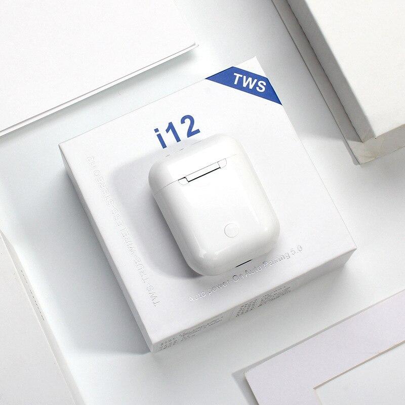 cheapest Tiso ix Bluetooth 5 0 earphones 6D true wireless stereo HD headphone sports TWS IPX5 waterproof headset with dual microphone