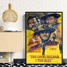 Clint Eastwood A Fistful of Dollars Classic Movie Poster Wall Art Picture Posters and Prints Canvas Painting for Room Home Decor