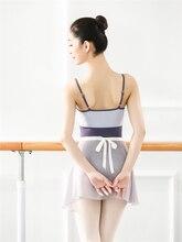 נשים התעמלות בגד גוף גבירותיי חולצה Dancewear ריקוד תלבושות בגדי מקצועי התעמלות בלט בגדי גוף לנשים