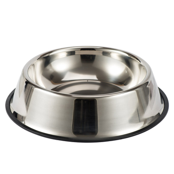Dog Cat Bowls Stainless Steel Non-slip Durable Anti-fall Dogs Feeding Bowls for Small Medium Dogs Cat Placemat Feeder Pet 1