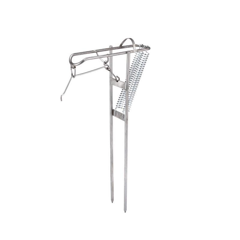 Automatic Spring Angle Pole Fish Rod Bracket Stainless Steel Fishing Rod Holder Rack Adjustable Folding Holder 1PC