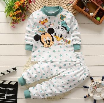 0-2year Baby Clothes Set Winter Cotton Newborn Baby Boys Girls Clothes 2PCS   Baby Pajamas Unisex Kids Clothing Sets - -v21, 3M