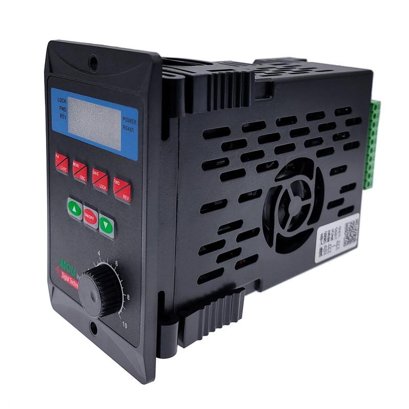 Однофазный входной преобразователь частоты 400 Вт MCU T13-400W-12-H, 0,75 кВт, с трехфазным приводом мотора RS485