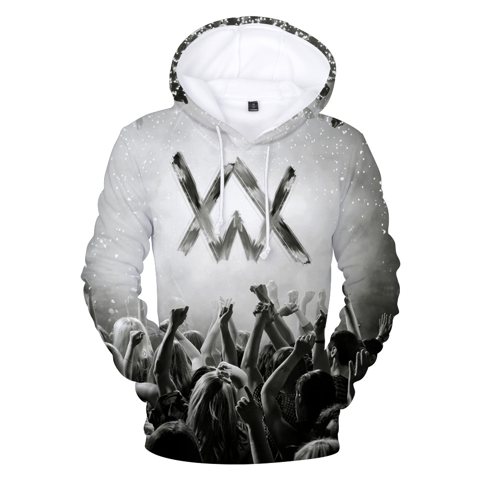 Alan Walker Allen Walker New Style Related Products Digital Printing 3D Hoodie Clothing Celebrity Style Coat