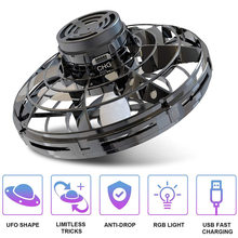 Mini Drone type Flying Helicopter spinner  Fingertip Upgrade Flight Gyro Aircraft Toy Adult Kids Gift