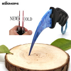 Newest Claw Neck Knife Hunting CS Go Knives Survival Tactical Outdoor Camping Stiletto Machete Self-defense Multifunctional Tool