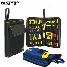 FASITE Professional Electricians Hard Plate Tool Kit Bag Storage Case Multifunctional Pocket Organizer Waterproof Oxford