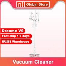 Dreame aspiradora inalámbrica V9, aspiradora portátil con filtro ciclónico, recolector de polvo, barrido de alfombras para el hogar