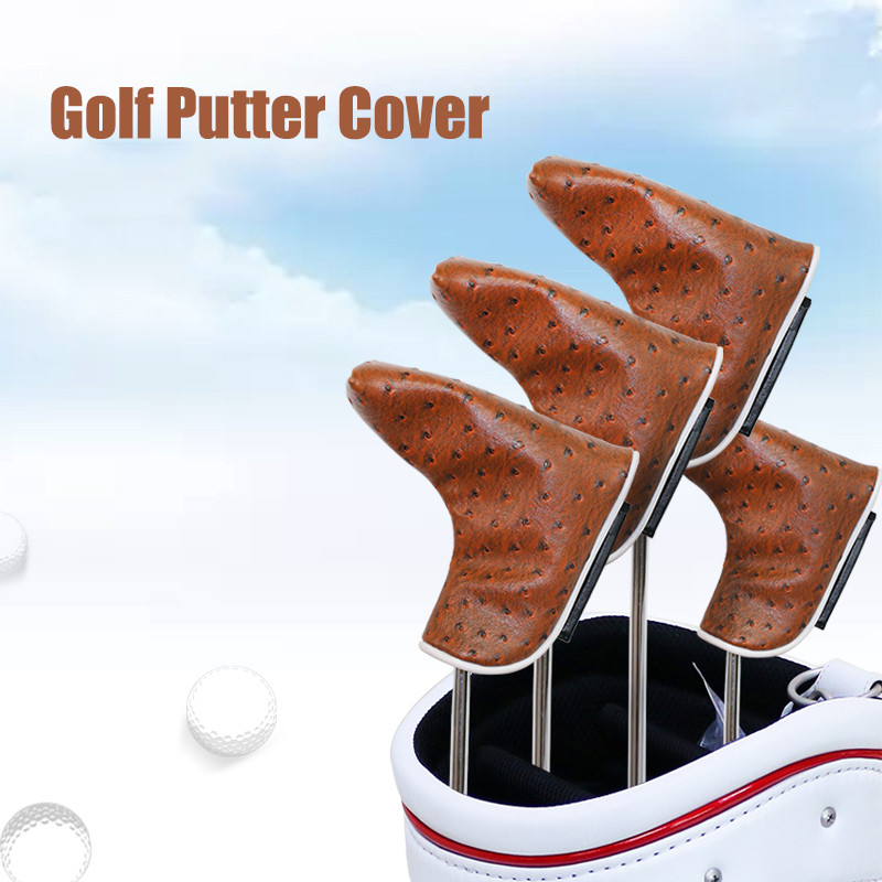 Golf Putter Head Covers Golf Club Protectors Protective Sleeve- Pack Outdoor Indoor Sports