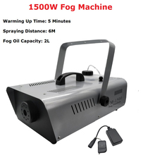 1500W Fog Machine Stage Smoke Professional Lighting Effect Fogger Perfect For Wedding Party Light Dj Equipments