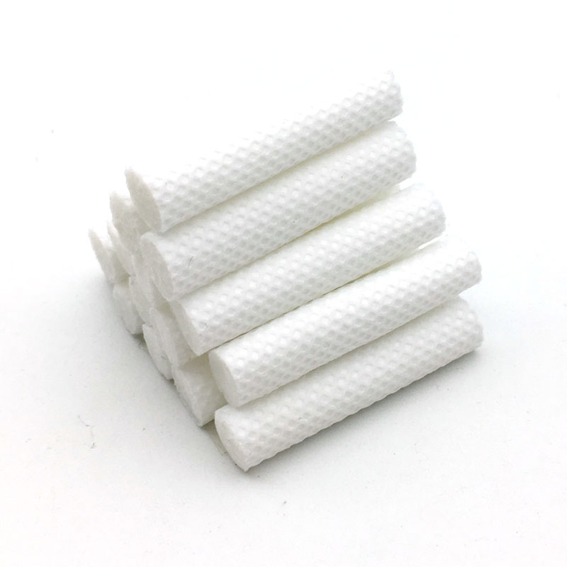 20Pcs Aromatherapy Inhaler Refill Wick Stick Package,Nasal Inhaler Replacement Cotton Wicks