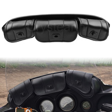 Motocicleta 3 bolso pára brisas saco para harley touring electra glide rua flhx flhxs flhtk flhtcu 1996 2013