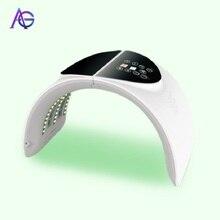 ADG 7 couleurs lumière LED machine de beauté beauté peau serrant la machine