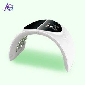 Image 1 - Adg 7 색 led 가벼운 아름다움 기계 아름다움 피부 강화 기계