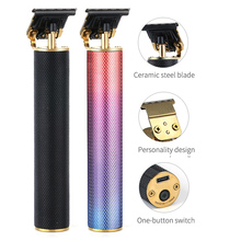 Hair-Trimmer Carving Cordless Professional Rechargeable Men