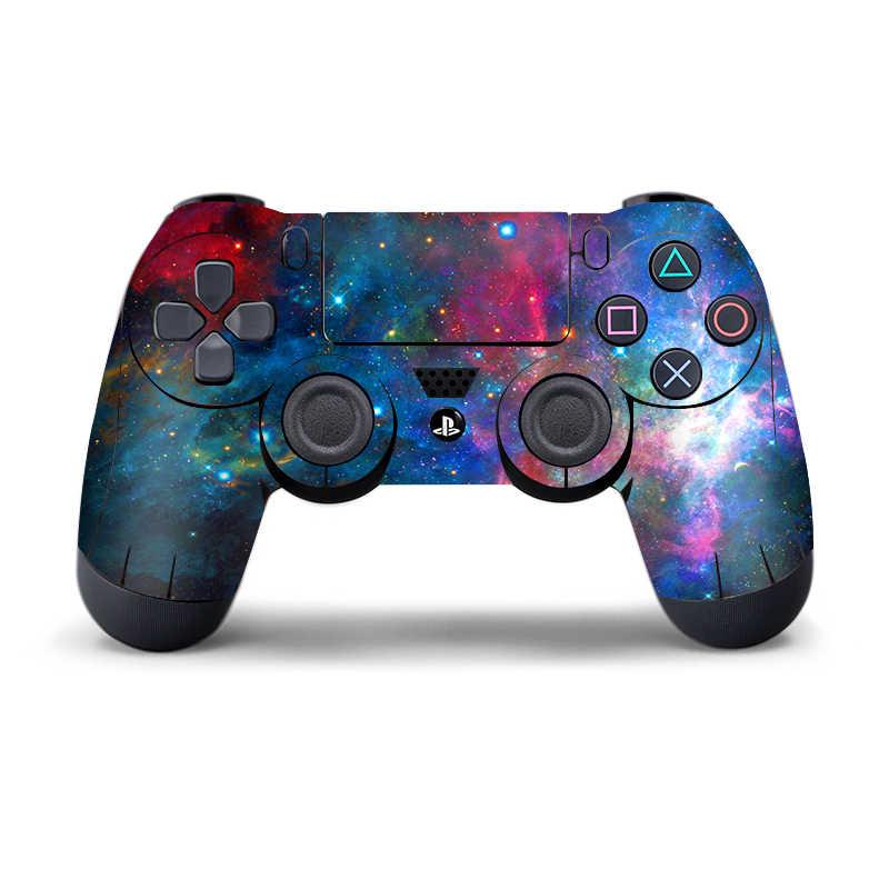 Skórki winylowe dla PS4 naklejka na pad kalkomanie dla Playstation4 Gamepad pokrywa dla PS4 sterowania dla naklejka na kontroler do PS4 naklejki