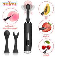 GUIMI 5 Seconds Fast Orgasm Clitoral Vibrator Pussy Masturbator G spot Stimulation Nipple Massager Intimate Sex Toys for Woman