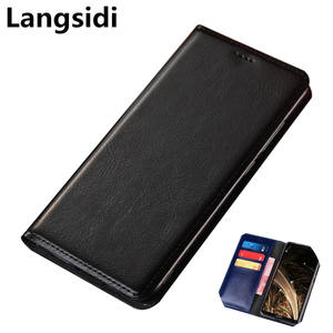 Flip Wallet Samsung Galaxy Phone-Bag-Case Cover For Genuine-Leather Multi-Card-Holder