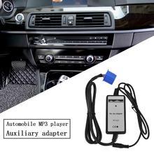 Uniwersalne samochody odtwarzacz Mp3 Radio kablowe interfejs 3 5mm pojazdy AUX In Adapter pasuje do Honda Auto Accessary tanie tanio CN (pochodzenie) plastic 0 14kg black 15*10*4cm Cables Adapters Sockets