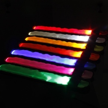 Светодиодный лампа-рефлектор повязки на руку ремень безопасности для ночной бег велопрогулки ремешок на руку наручные браслеты