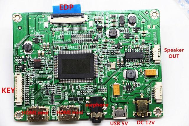 13,3 inchdisplay táctil capacitiva kit de módulo de 1920x1080 IPS 2mini HDMI módulo LCD coche Raspberry Pi 3 juego PS3 XBox PS4 Monitor