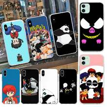 Hpchcjhm Ranma 1 2 Diy Geschilderd Telefoon Case Voor Iphone 11 Pro Xs Max 8 7 6 6S Plus X 5S Se Xr Cover(China)