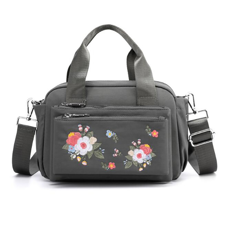 Baby Nappy Bag Diaper Bag Mummy Portable Bag Embroidery Outdoor Mother Waterproof Shoulder Bags Handbag BXY098