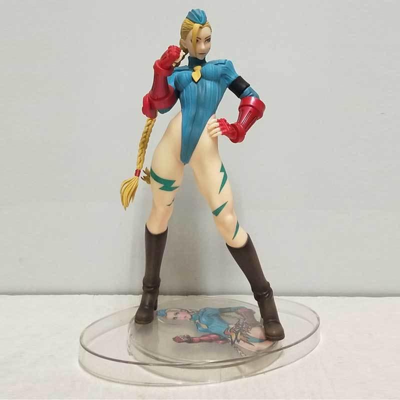 New White Sutorito Faita Cammy Figure Bishoujo Collection Pvc Action Figure Toy Sexy Girl Doll Gift For Boy 22cm