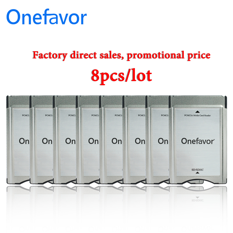 8pcs/lot New Store Promotion!!! SD Card Adapter Onefavor PCMCIA Card Reader For Mercedes Benz MP3 Memory
