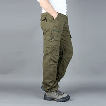 Спецодежда в стиле милитари, прямые брюки, повседневные уличные штурмовые брюки для альпинизма, одежда для страхования труда, охотничий нар...