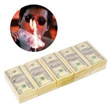 Handkerchief Money-Napkin Tissue-Paper Disposable-Towel Dollar-Pattern Funny Tableware