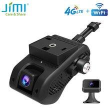 JIMI JC400 4G Автомобильная приборная панель камера с WIFI живым потоком видео GPS отслеживание через приложение/ПК топливный отсек двойной объекти...
