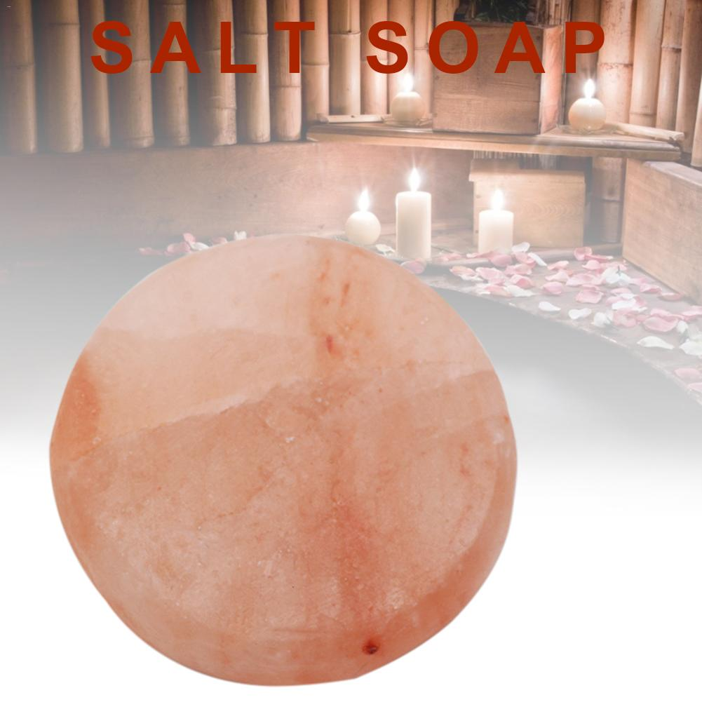 Swimming Salt Scrub Salt Soap Ball Natural Salt Health Cleaner Pore Acne Treatment Sea Salt Soap Cleaning Moisturizing Skin Care