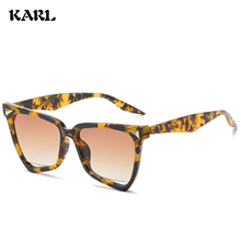New Women Sunglasses Fashion Personality Polygon Sun Glasses KARL Brand Designer Luxury Goggle UV400 Zonnebril