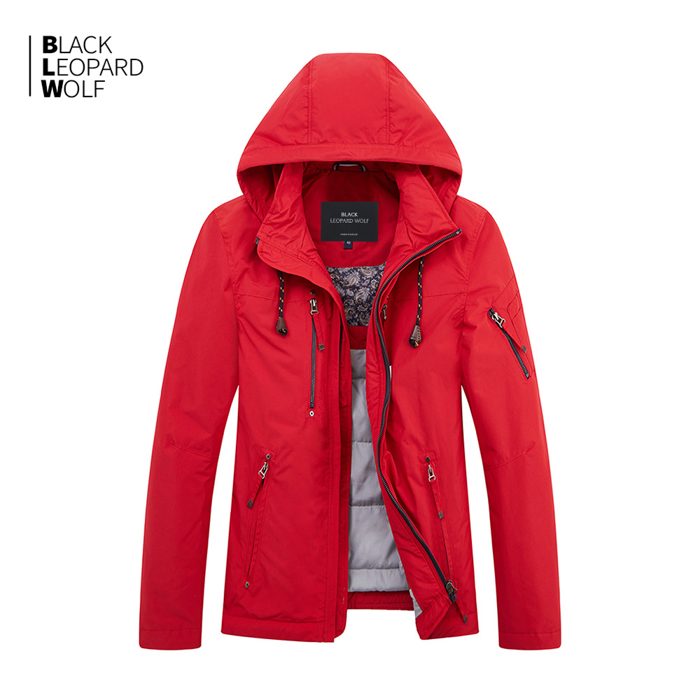 Blackleopardwolf 2019 New Arrival Down Jacket Men Thick Cotton High Quality Causal Parkas Winter Jacket With A Hood MC-81063