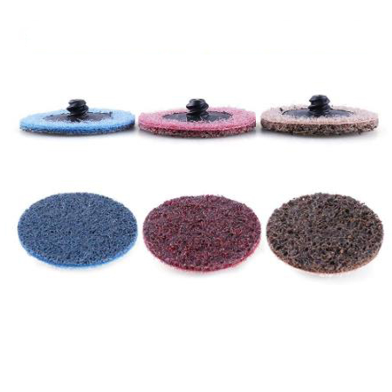 45pcs Set Polishing Pad Angle Die Grinder Metalworking Abrasive Disc Holder Tool