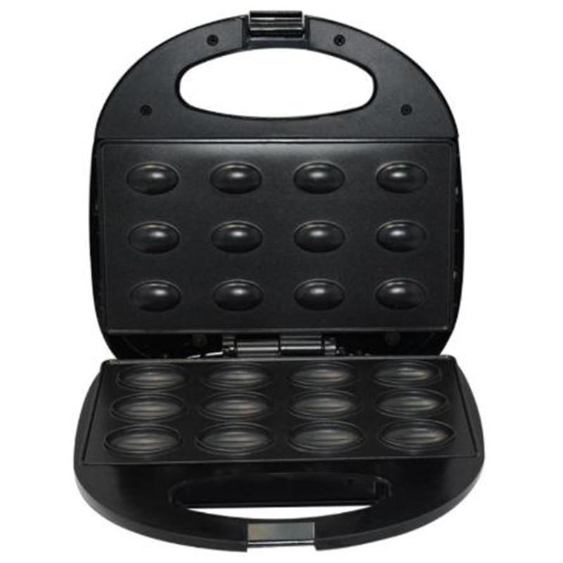 Electric Walnut Cake Maker Automatic Mini Nut Waffle Bread Machine Sandwich Iron Toaster Baking Breakfast Pan Oven AU Plug|Bread Makers| |  - title=