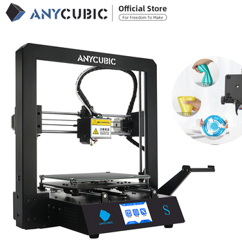 Anycubic 3d Printer Mega S DIY Kit TFT Touch Screen High Precision Print Flexible / ABS / PLA 1.75mm filament 1
