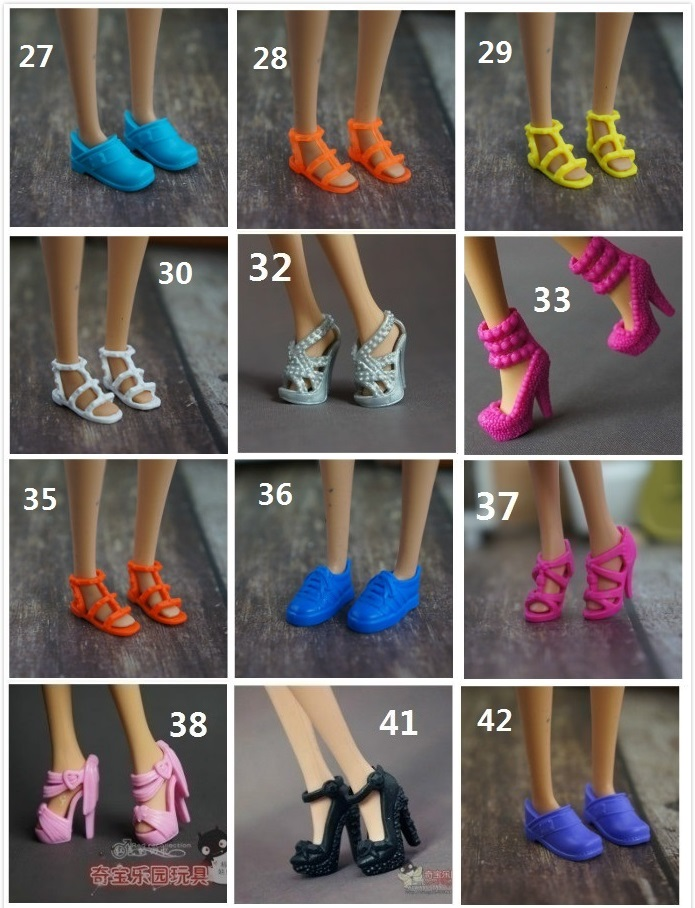 for barbie shoes 3