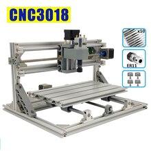 Cnc3018 mini gravador a laser cnc, máquina de gravação a laser roteadora madeira grbl1.1 2500mw 5500mw 10w desktop diy hobby ferramentas de corte