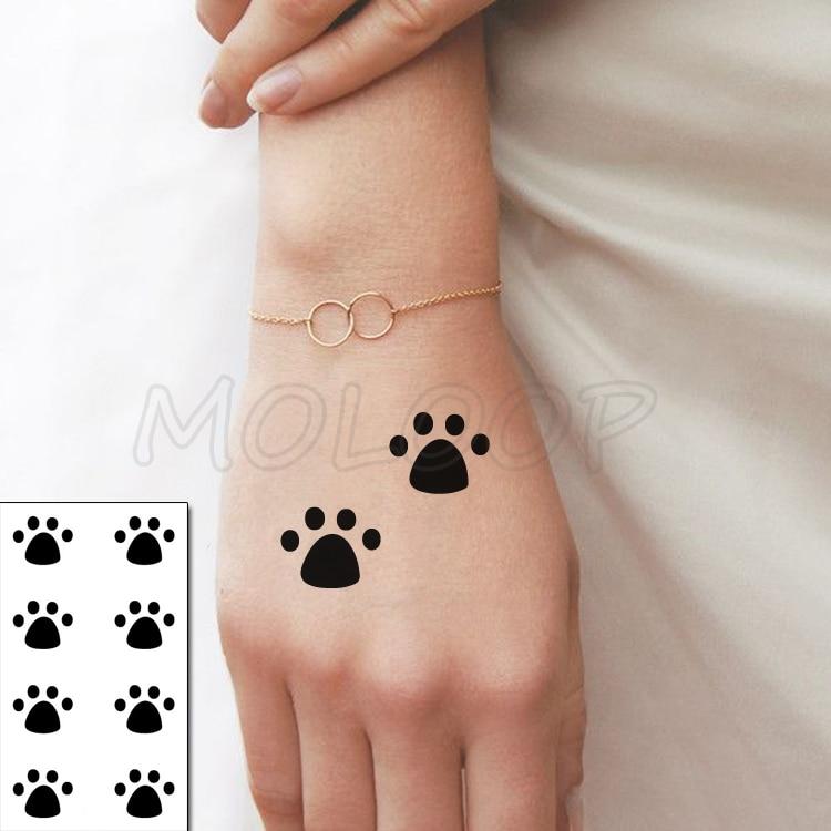 Tattoo Sticker Body Art Black White Drawing Little Element snake rose flower Water Transfer Temporary Fake tatto flash stickers 3