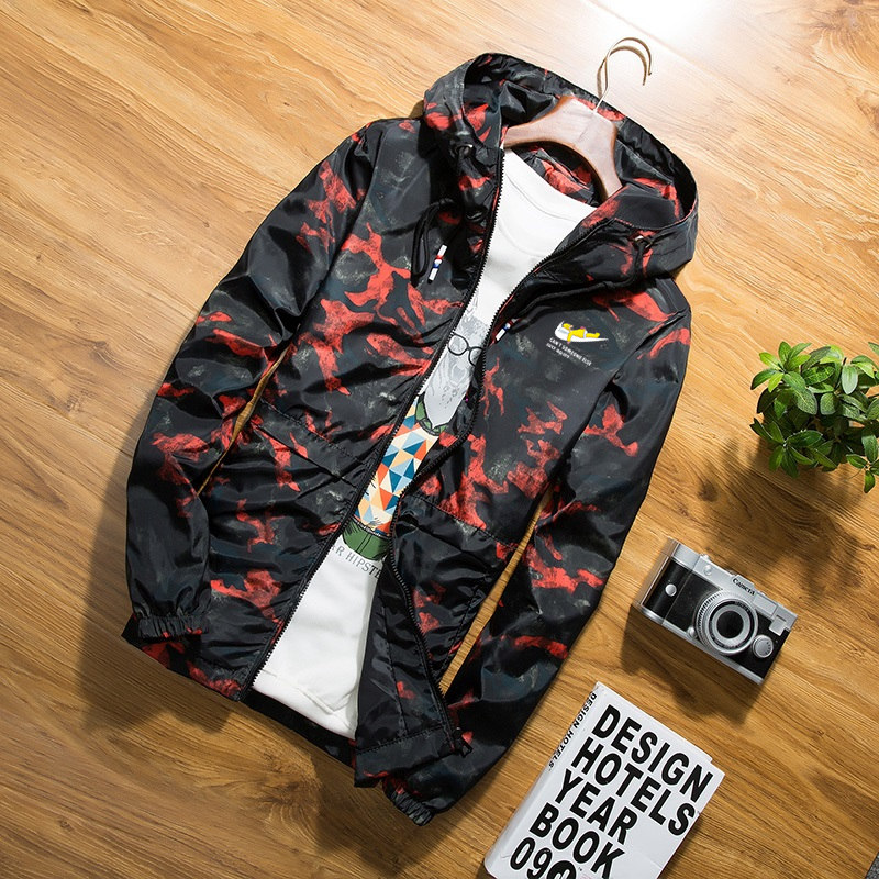 2020 Hot Spring Autumn Men's Camouflage Coat Mens Hoodies Casual Jacket Brand Clothing Mens Windbreaker Coats Male Outwear K027